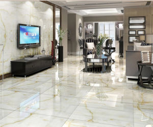 Milky Rose AA010 Full Polished Porcelain Tile pictures & photos