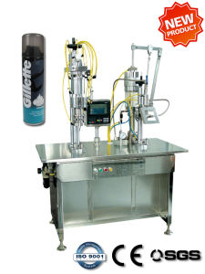 Post-Foaming Shaving Gel Filling Machine (QGB2Y) pictures & photos