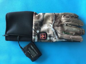 Camouflage Hunting Heated Glove for Outdoor Sporting, Winter Glove pictures & photos