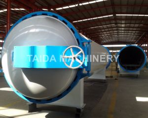 Siemenz PLC Extruded Rubber Products Steam Heating Autoclave pictures & photos