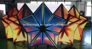 P4 Star Shape LED DJ Booth pictures & photos