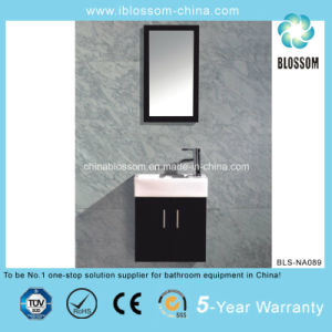 Wall Mounted Plywood Bathroom Vanity (BLS-NA089) pictures & photos