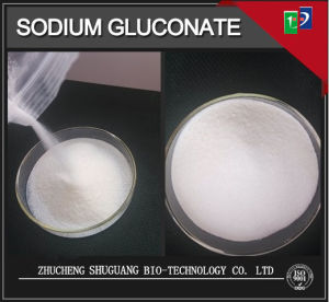Factory Price Concrete Retarder 99% Sodium Gluconate