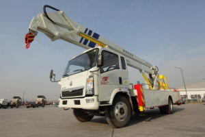 Sinotruk HOWO Hydraulic Lift Platform Truck pictures & photos