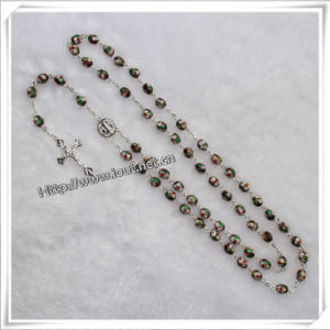 St. Benedict Cross Cloisonne Beads Rosary for Praying (IO-cr036) pictures & photos