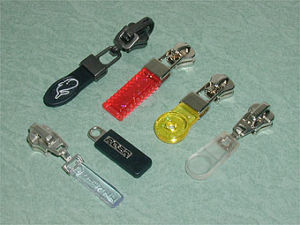 #5 PVC Zipper Slider Auto Lock Custom Materials pictures & photos