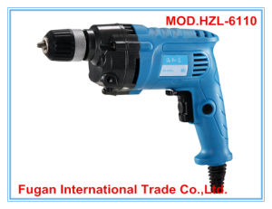 Power Tool Hand Tool 880W 10mm Electric Drill Mini Drill (HZL-6110)