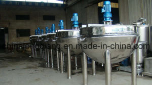 Vertical Jacketed Steam Kettle pictures & photos