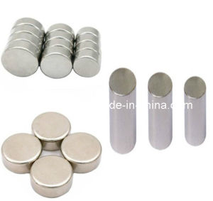 Round Shape Small Size SmCo Strong Magnets pictures & photos