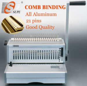 Manual Comb Binding Machine Metal A4 (CB300) pictures & photos