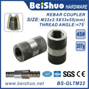 High Strength Steel Sleeves Reinforcing Rebar Couplers pictures & photos