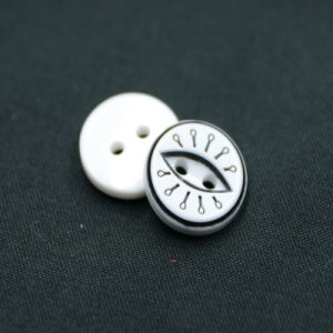 2 Holes New Design Polyester Button (S-050) pictures & photos
