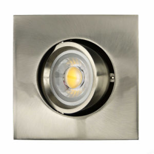 Die Casting Aluminum GU10 MR16 Square Recessed Tilt Downight (LT1205) pictures & photos