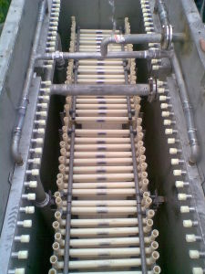 TIPS UF Membrane Bio-Reactor Series applied in industry water treatment