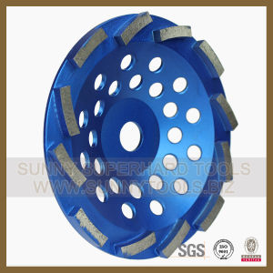 Single Row Diamond Cup Wheels for Granite Concrete pictures & photos