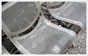 Decoration Powder Coating Galvanized Perforated Metal Mesh