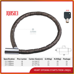 Jq8503 Popular Bicycle Lock Motorcycle Joint Lock Iron Bicycle Lock pictures & photos