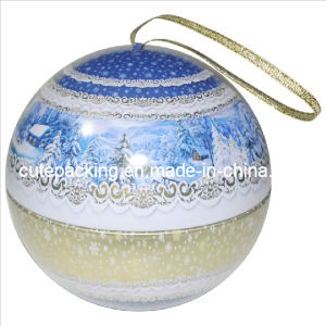 Promotion Gift Spherical Tin Box (GTB04)