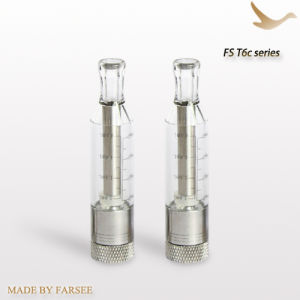 Hot Sale Electronice Cigarette Clear Cartridge for EGO (FsT6c)