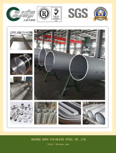 AISI 304/ 304L Tp316/316L Welded Stainless Steel Pipe pictures & photos