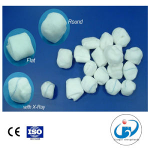 Sterile Medical Absorbent Gauze Ball CE Certified Different Shapes