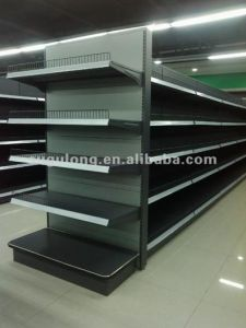 Supermarket&Store Gondola Storage Shelf&Rack Display Equipment/Metal System