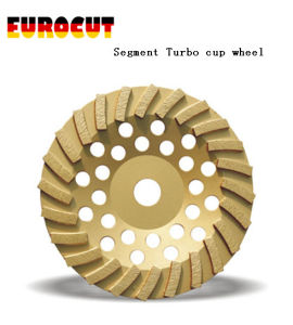 Diamond Cup Wheel with Segment Turbo Grinding Cup Wheel