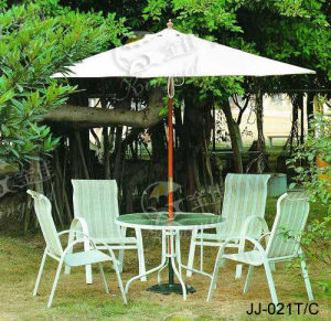 Textilene Mesh Fabric, Outdoor Furniture (JJ-024T, JJ-021C)