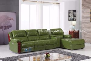 Recliner Leather L Shape Sofa