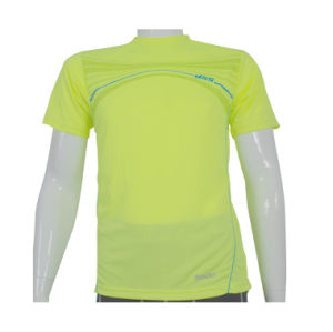 Men′s Performance Running Wicking T-Shirt