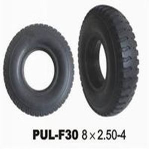8 * 2.50-4 Black PU Solid Hand Truck Tire pictures & photos