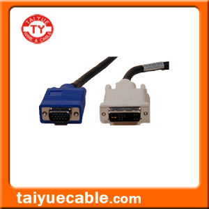 DVI to VGA Cable/Computer LAN Cable pictures & photos