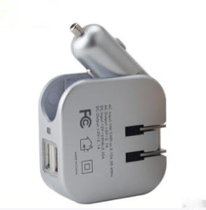 Best Promotion Products 2 In 1 Car Charger Wall 5v 1a