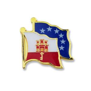 Customized Flag Pin; Souvenir Pin; Pin Badge
