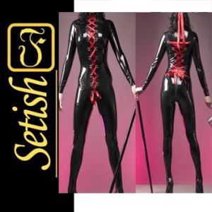 China Latex Catsuit (csb098) - China Sexy Clothes d011b9743