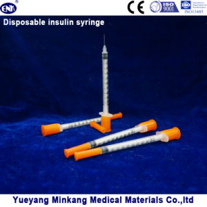 Disposable Insulin Syringe 1cc (ENK-YDS-008) pictures & photos