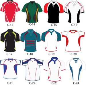 Custom New Style High Sublimated Rugby Shirt