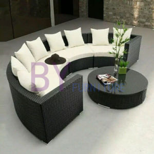 PE Rattan Sofa Outdoor Corner Sofa Home Furniture