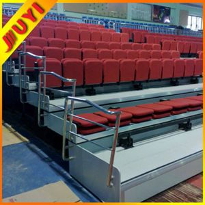 Jy-768 Cricket Wholesale Fabric Movable Indoor China Supplier Telescopic Portable Stage Platform Retractable Grandstand pictures & photos