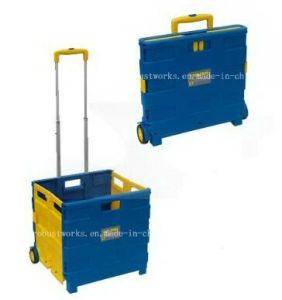 Plastic Folding Shipping Cart (FC403C-2-1) pictures & photos