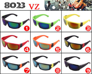 2015 Hot Sale Rushed Square Gafas De Sol Mujer Vz European Sport Sunglasses Popular Sand Colorful Fashion Riding Glasses 8023