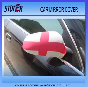Promotional Custom Printing Car Side Mirror Cover Flags