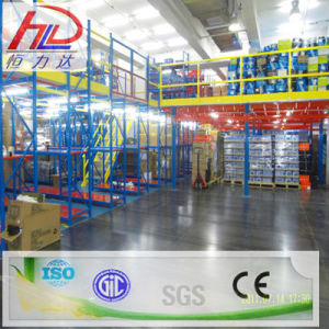 Steel Mezzanine Storage Shelf with SGS Approved