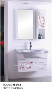 PVC Bathroom Cabinet Sanitaryware Bath (W-073)