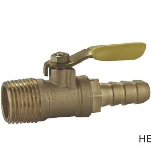 (HE-1151) Brass Ball Valve Pn16 with Wing Handle for Water, Oil