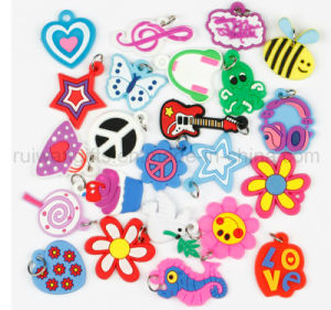 Fashion DIY Charms Bracelets with Kinds of Rubber Charms pictures & photos
