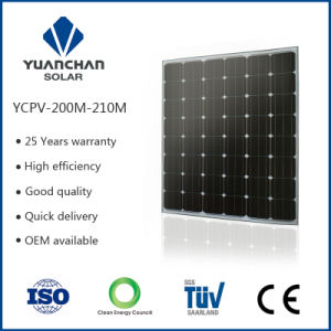 200W Monocrystal Solar Panel China Supplier with Full Certificates