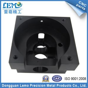 Precision CNC Aluminum Machining Parts with Black Anodized (LM-1168A) pictures & photos