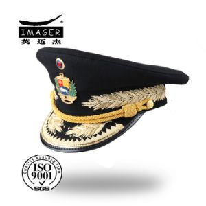 China Custom 3D Embroidery Military General Hat - China Military Hat ... a153a68fa9c