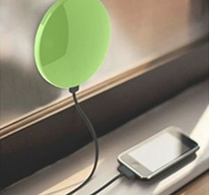 Window Solar Charger for Mobile Phones with 1800mAh